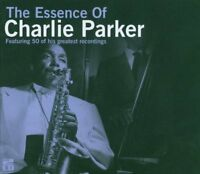 THE ESSENCE OF CHARLIE PARKER NEW 2CD Set 50 Greatest Hits Best Of JAZZ
