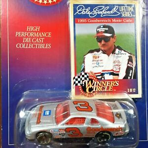 Dale Earnhardt #3 GM Goodwrench 1995 Monte Carlo NASCAR Winners Circle 1:64
