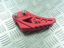 PIT BIKE REAR CHAIN GUIDE CW M2R WPB 10TEN MOTO X STOMP RED 31mm fixing