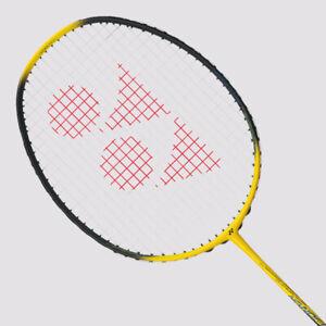 YONEX Nanoflare Ability Badminton Racquet NF-AGE Yellow, 4UG5, Pre-Strung