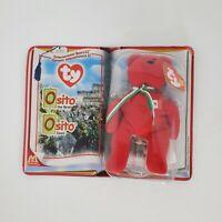 Osito the Bear McDonalds TY International Bears II Teenie Beanie Baby 2000 Error