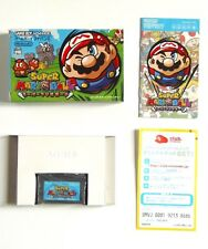 Nintendo Game Boy Advance GBA Jeu Super Mario Ball Japan