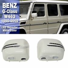 LED Repeater White Side Mirror Cover 2P for Mercedes Benz 1990-2002 G-Class W463