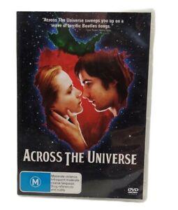 Across the Universe 2008 Evan Rachel Wood Jim Sturges R4 DVD Free Tracked Post