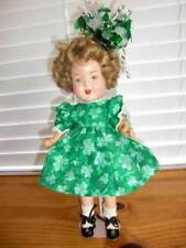 Unmarked ~ Vintage 1920-30s Composition Shirley Temple Doll 13""