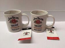 JIM BEAM  LICENSED OFFICIAL COFFEE MUG X 2