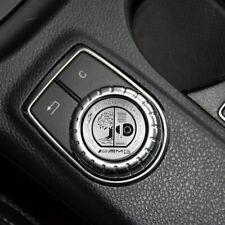 AMG Emblem Mercedes Logo Controller Mittelkonsole Aufkleber STICKERS 29 mm alu