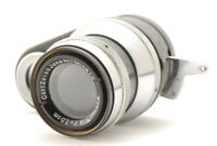 Rare!![N Mint]Carl Zeiss Jena Sonnar 7.5cm f/4 For Zeiss ikon Movikon 16mm 1434