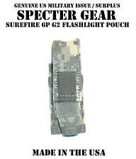 SPECTER GEAR 286 ACU UCP BELT MOUNT SUREFIRE 6P G2 FLASHLIGHT POUCH US MILITARY