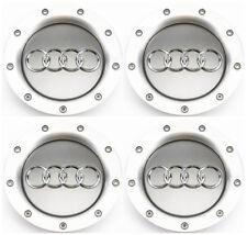 4 Pieces OEM Wheel Center Cap 8D0601165K For AUDI A3 A4 A6 S4 S6 A8 TT RS4 RS6