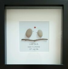 Personalised Gift Handmade ❤ Wedding, Anniversary, Engagement ❤ Unique & framed