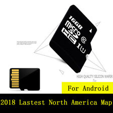 2018 16G Car GPS Maps Micro SD Card America USA Canada Mexico for Android System