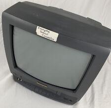 """Panasonic 4 Head Omnivision 13"""" TV/VCR Combo VHS FM Radio PV-M1368 - No Remote"""