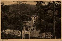Alte AK Sachsen-Anhalt Sommerfrische Papiermühle um 1920 alte Postkarte gebr.