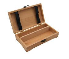 Stiftebox 2, Buche FSC®, Holzkästchen, Organizer, Aufbewahrung Blei- + Buntstift