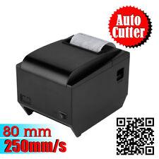 250mm/sec 80mm USB ESC/POS Thermal Dot Receipt Printer with AUTO-CUT Function UK