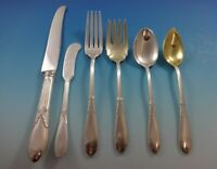 Rose Marie by Gorham Sterling Silver Flatware Set For 12 Service 76 Pieces