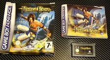 "Prince of Persia ""las arenas de tiempo 'para GAMEBOY ADVANCE en Caja Con Manual"