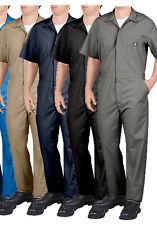 Dickies Men's Short Sleeve Coveralls Comfort Elastic Waist Work Men's Big & Tall