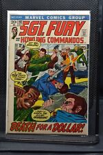 Sgt Fury and His Howling Commandos #102 Marvel Comic 1972 Stan Lee Ayers 6.0