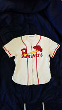 Portland Beavers Game Used Flannel Turn Back The Clock Jersey