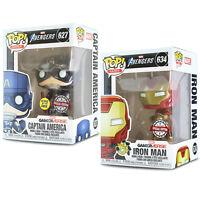PREORDER!!! Black Light Neon Iron Man Exclusive Funko Pop Marvel
