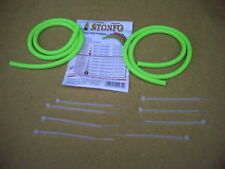 2 x Stonfo Spare Catapult Elastics, Light Green.Power Rated for Long Distance.