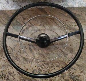 1955 56 57 Chevrolet Bel Air steering wheel w/ horn ring Belair
