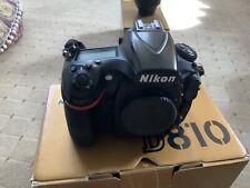 Nikon 1542 D810 36.3MP full-frame DSLR-Nero