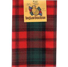 Scarf Clan Kerr Tartan Scottish Wool Plaid