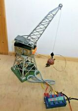 Märklin H0 7051 Remote Controlled Crane with Lifting Magnet Tested Instructions