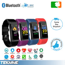 Smart Watch Fit Activity Step Tracker Callorie Counter Bracelet Wristband