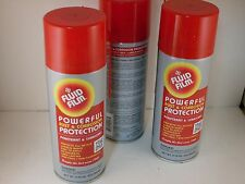 A086 3 Pack Fluid Film Rust And Corrosion Protection Aerosol Can 11.75 oz 11 3/4