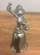 New England Silver plated Bell Disney's Mickey Mouse Marching Band Disney Bell