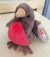 1998 Retired TY Beanie Baby Early The Bird With Tag Protector