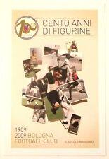 Cartolina Centenario Bologna Calcio 1909-2009 - Cento Anni Di Figurine-Il Secolo