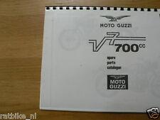 M0209 MOTO GUZZI---SPARE PARTS CATALOGUE V7-700 CC----MODEL
