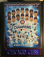 Chicago Cubs 2016 World Series Champions 10.5 x 13 Team photo framed Kris Bryant