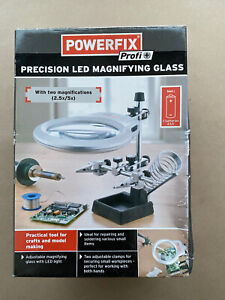 Powerfix Precision LED Magnifying Glass