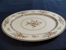 "Large Mikasa Chippendale Oval Platter - 15"" Long Item 338"