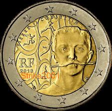 2 EURO COMMEMORATIVO FRANCIA 2013 De Coubertin