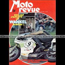 MOTO REVUE N°2192-b ★ Poster GROGG/GRABBER SIDE-CAR ★ YAMAHA TZ 400 WANKEL 1974