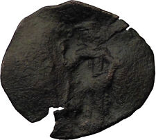 Latin Rulers of Constantinople 1204-1261AD Byzantine Coin Christ  i30713