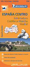 Extremadura, Castilla-la Mancha, Madrid (Michelin Road Atlases & Maps)