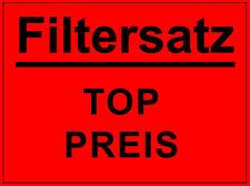 Luftfilter Ölfilter Innenraumfilter (AKTIVKOHLE) ALFA ROMEO 147 NUR 1.6 + 2.0 TS