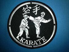 Vintage 1970's Karate Mma Martial Arts Sew On Gi Jacket Large Patch Crest