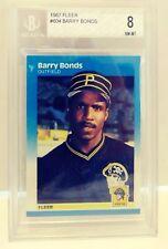1987 Fleer Barry Bonds Beckett 8 NM-MT #604