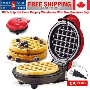 Electric Waffles Maker Breakfast Waffle Machine Egg Pancake Eggette Machine CA