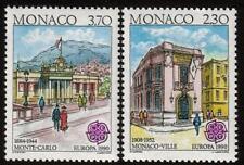 MONACO MNH 1990 EUROPA-dipinti da Hubert clerissi