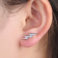 Fashion Chic Lightning Cartilage Punk Earrings Ear Stud Climber Helix Piercing